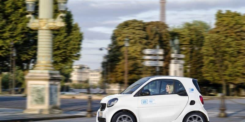 car2go in Paris unterwegs