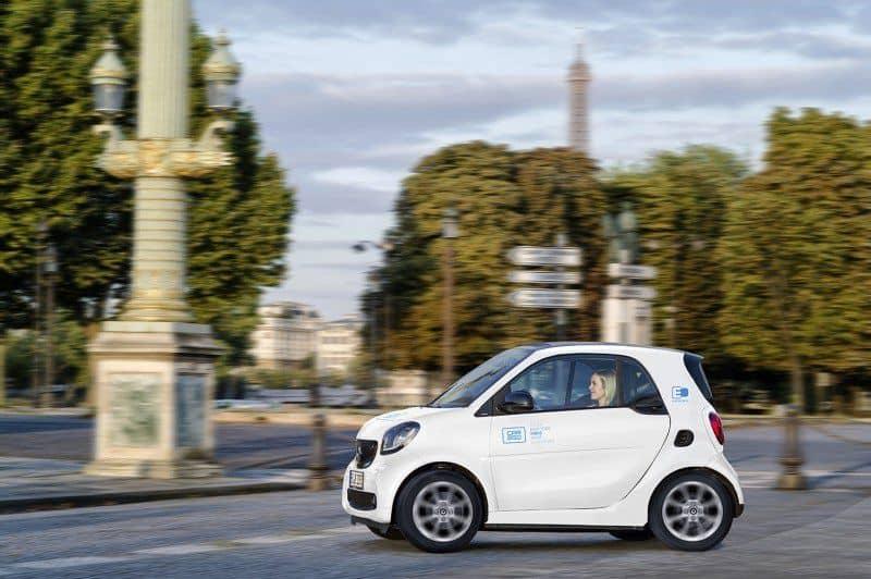 car2go in Paris unterwegs
