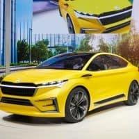 Škoda Vision iV Konzept Elektroauto