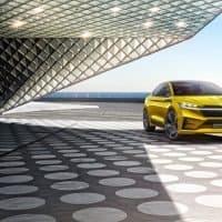 Details des Škoda Vision iV Konzept