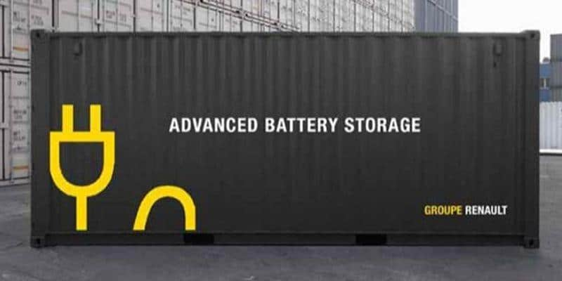 """Advanced Battery Storage"" - im Container"