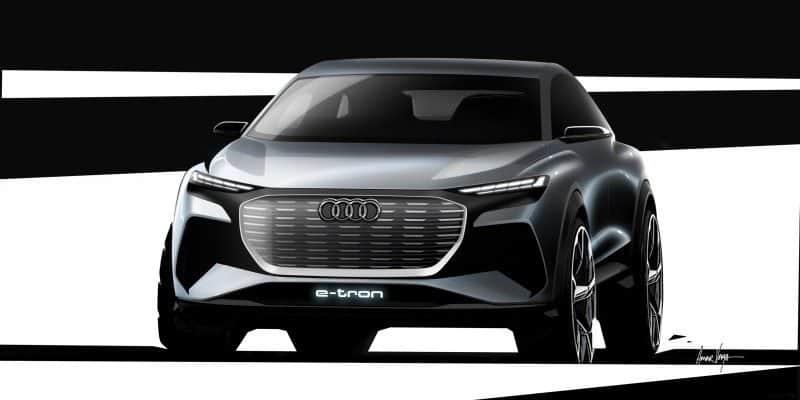 Audi Q4 e-tron concept Frontansicht