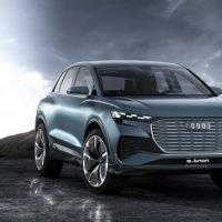 Audi Q4 e-tron concept Front