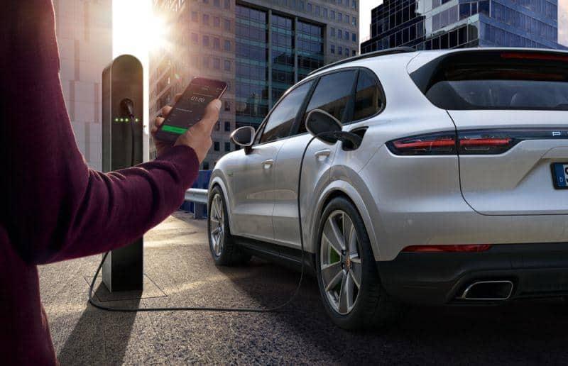 App Porsche Charging Service
