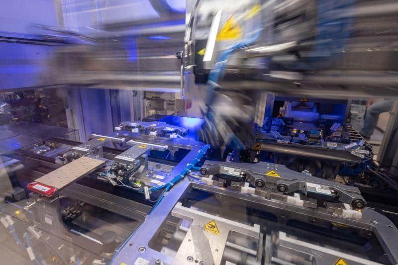 Einblick in das BMW Werk Dingolfing