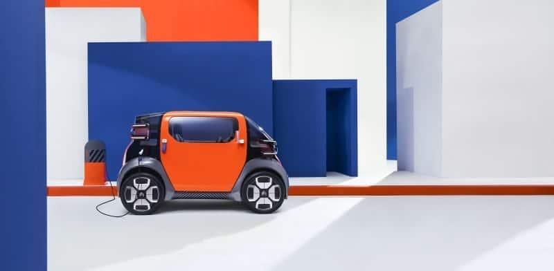 Citroën Ami One Concept Seitenansicht