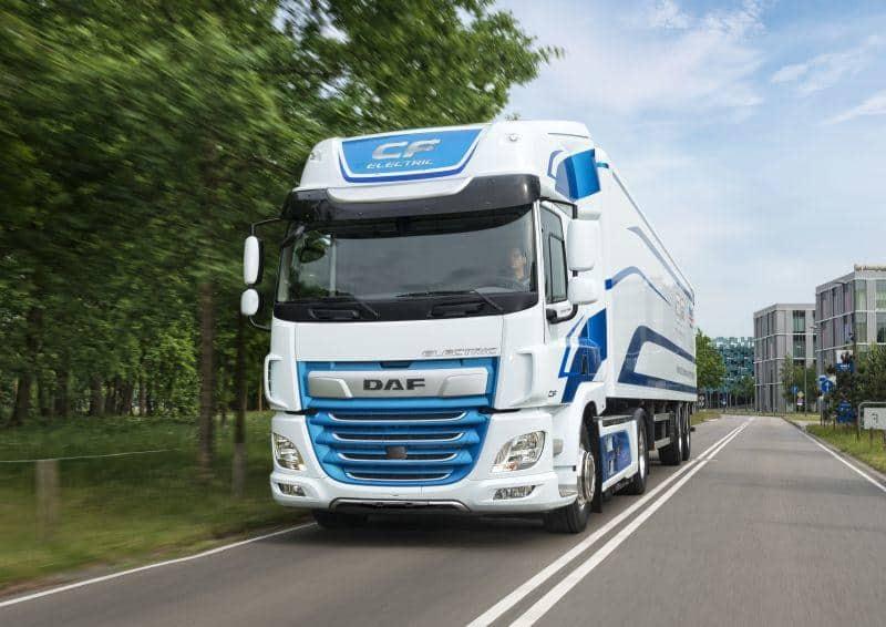 DAF Trucks CF Electric