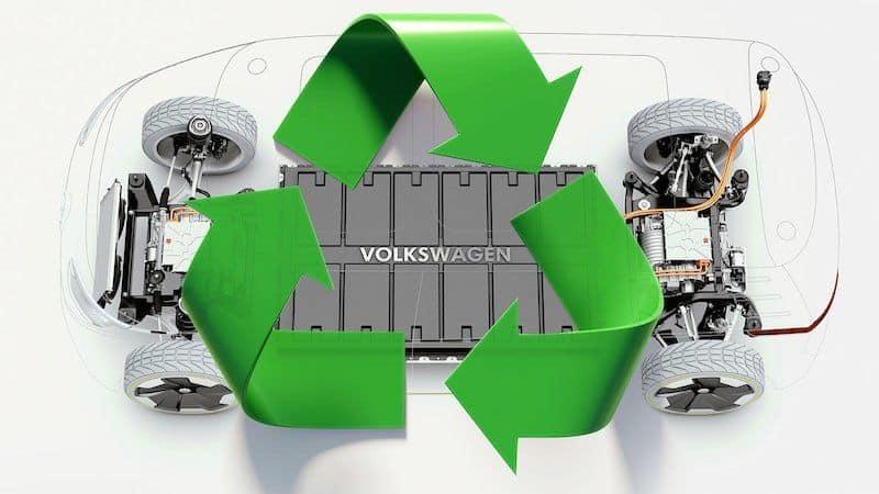 elektroauto akkus vw peilt recyclingquote von 97 prozent. Black Bedroom Furniture Sets. Home Design Ideas