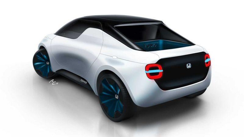 Honda Tomo Concept Heckansicht