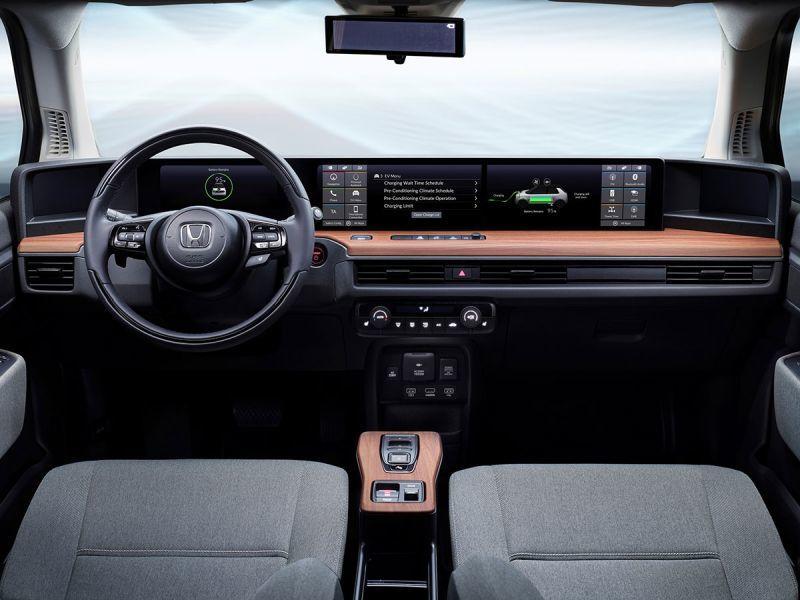 Honda e Prototype Innenraum