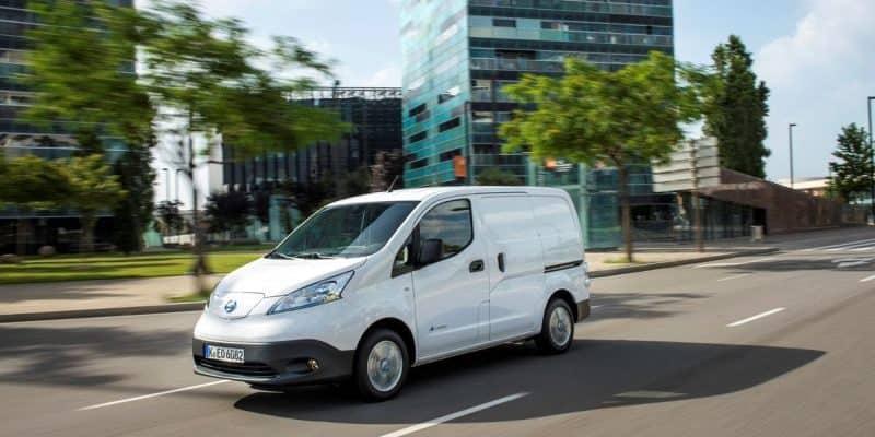 Kleintransporter NV200 von Nissan nimmt Fahrt auf