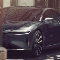 Lucid Air Frontansicht