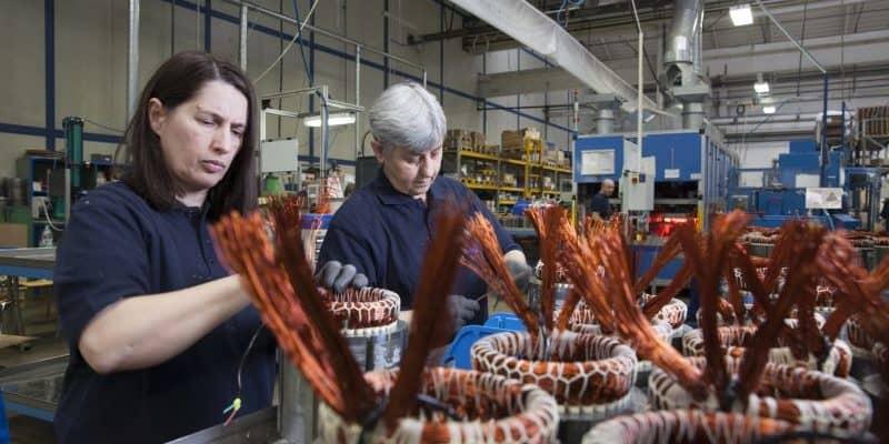 E-Motor-Produktion im MAHLE Werk in Šempeter pri Gorici, Slowenien