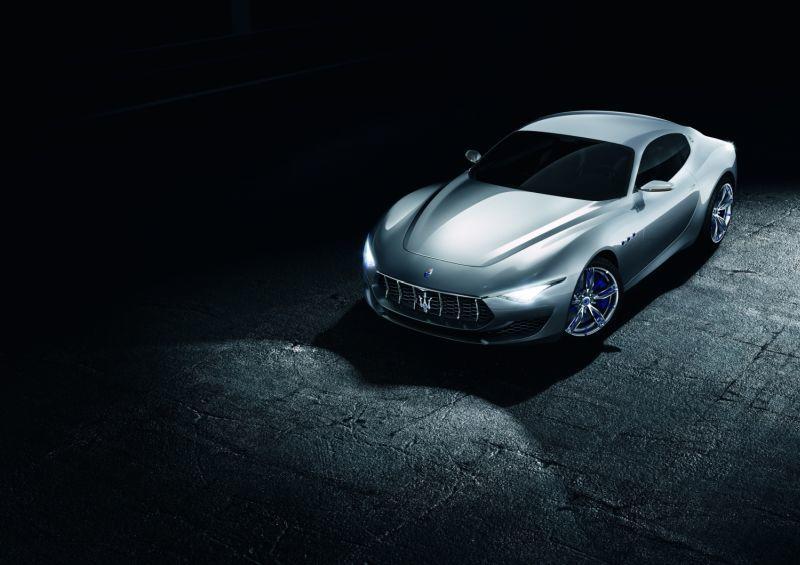 Maserati Alfieri Electric Frontansicht