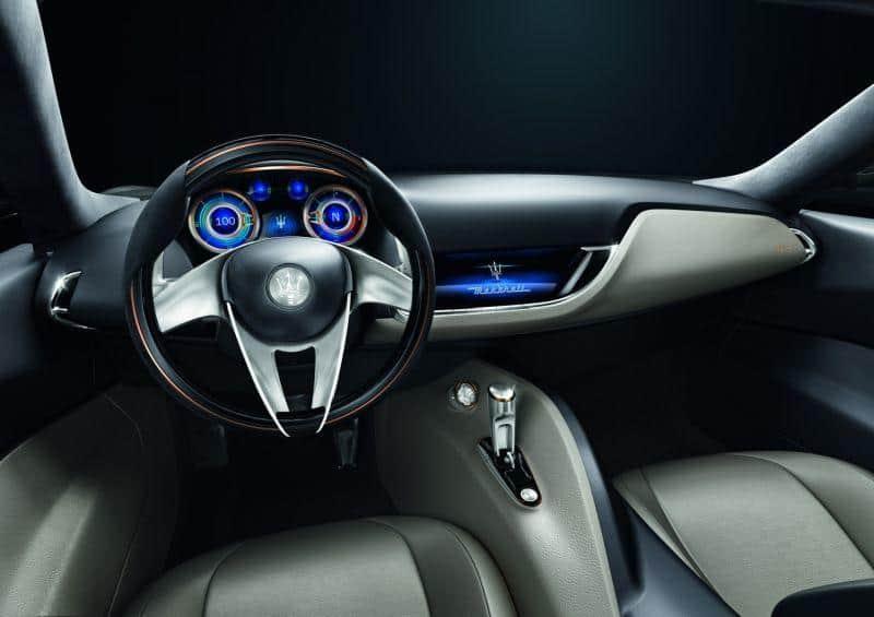 Maserati Alfieri Electric Innenraum