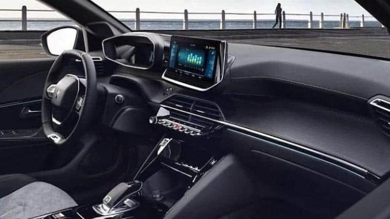 Innenraum des Peugeot e208