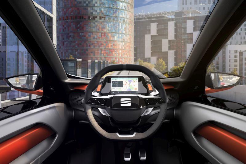 Innenraum des SEAT Minimó