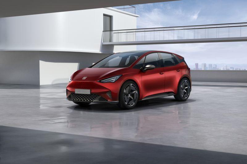 Seat el-Born - Elektroauto Konzept auf MEB-Plattform