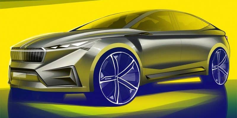 Škoda Vision iV - Frontansicht