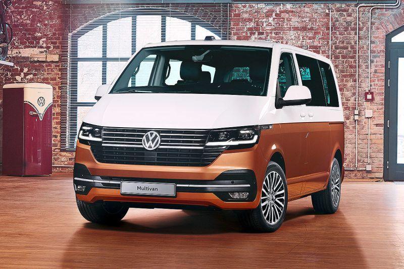 VW T6 Facelift rein elektrisch Front