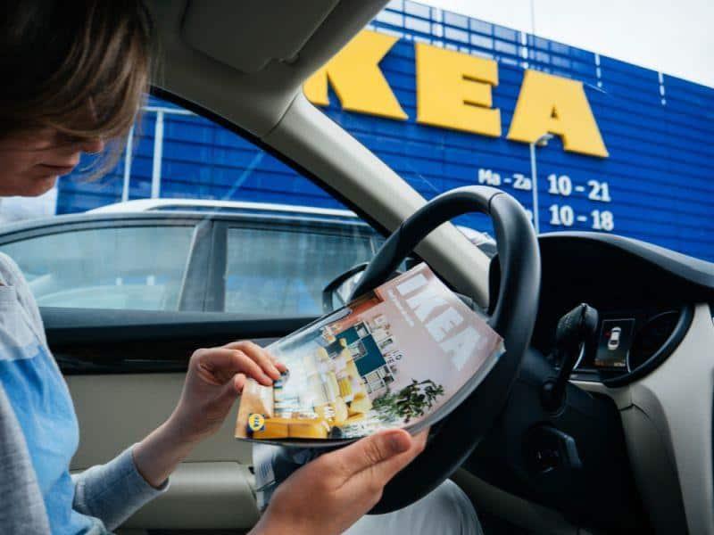 In Shanghai kommen IKEA-Lieferungen mit dem E-Auto