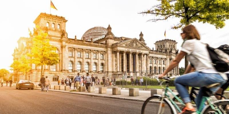 Berliner Bundestag bisher kaum elektrifiziert