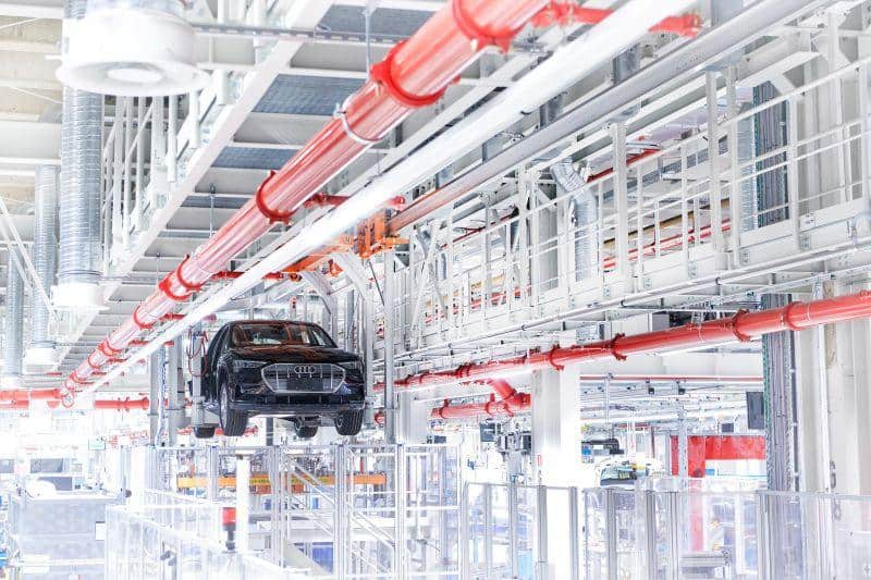 Audi e-tron Produktion in Brüssel