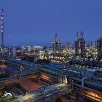 Ammoniakanlage am Standort Ludwigshafen