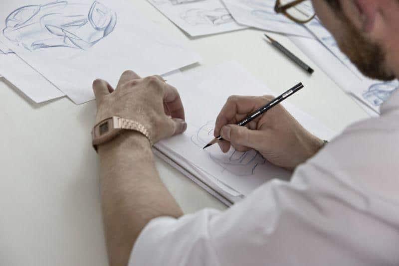 Design-Skizzen des Mercedes-Benz AMG Vision Gran Turismo