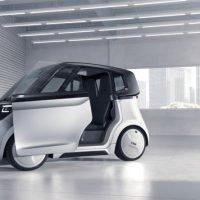 Elektro-Kleinwagen SVEN Seitenansicht
