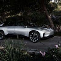 Faraday Future erstes E-Auto - Seitenansicht