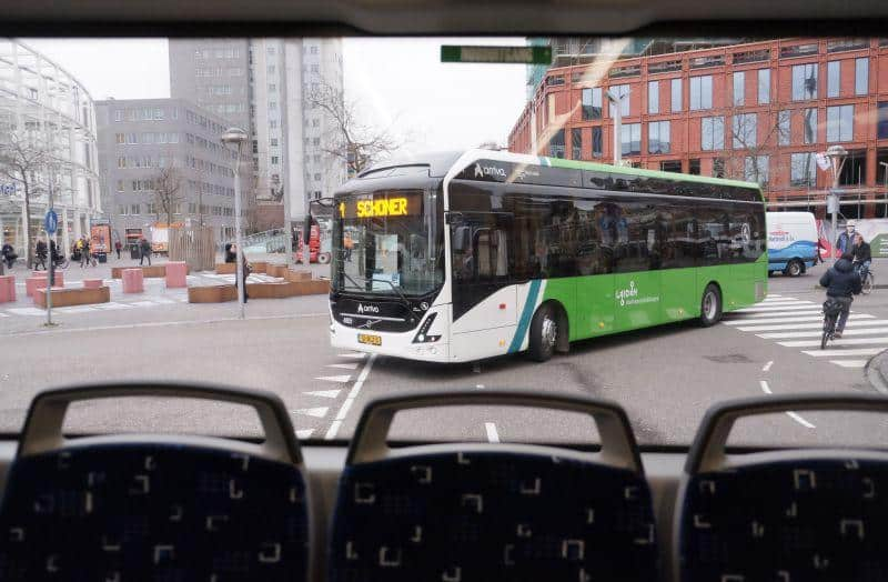 Volvo Elektrobus Niederlande