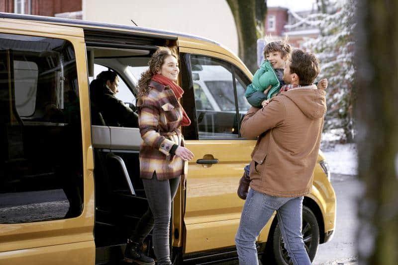 MOIA für Touristen und Einheimische im Dienst