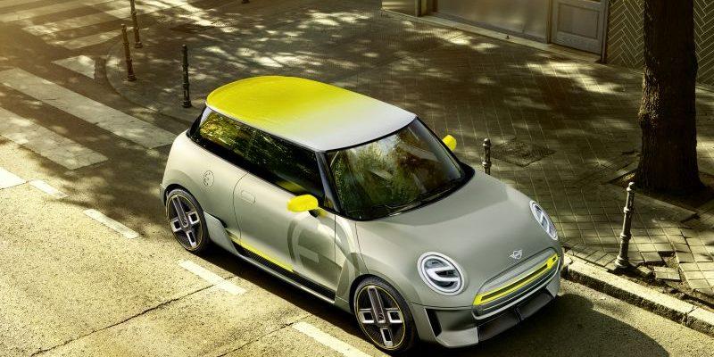 Mini Cooper E Concept