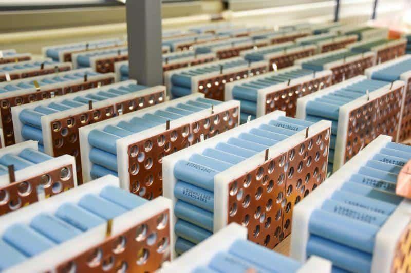 ecovolta Battery-Packs mit neuem Li-Ionen-Sicherheitskonzept zur Vermeidung von Bränden in Fahrzeugen.