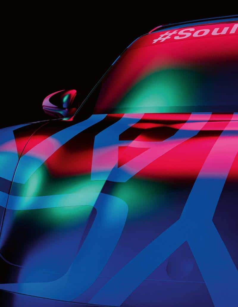 Front des Porsche Taycan