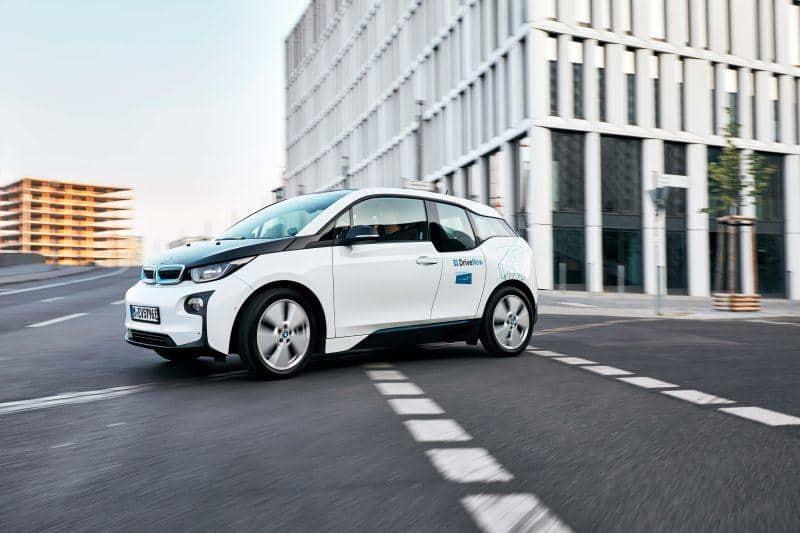 BMW i3 im Auftrag von Share Now