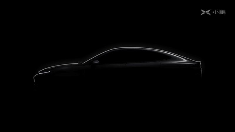 XPENG Motors - Silhouette zweites E-Auto E28