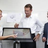 e.GO Mobile Team beim ersten Design-Entwurf