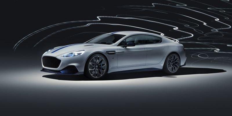 Aston Martin Rapide E - finales Design