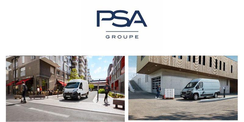 Peugeot Boxer Electric und Citroën Jumper Electric als erste E-Fahrzeuge im Nutzfahrzeugbereich von PSA