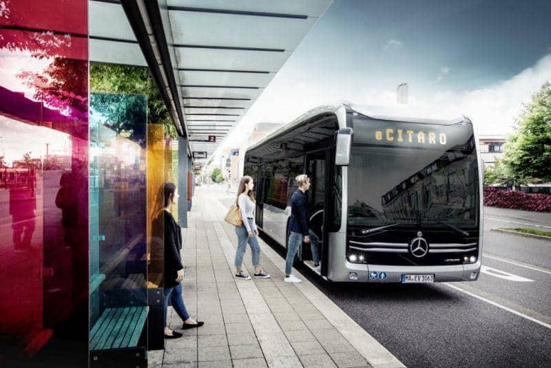 Mercedes-Benz eCitaro in Wiesbaden im Einsatz