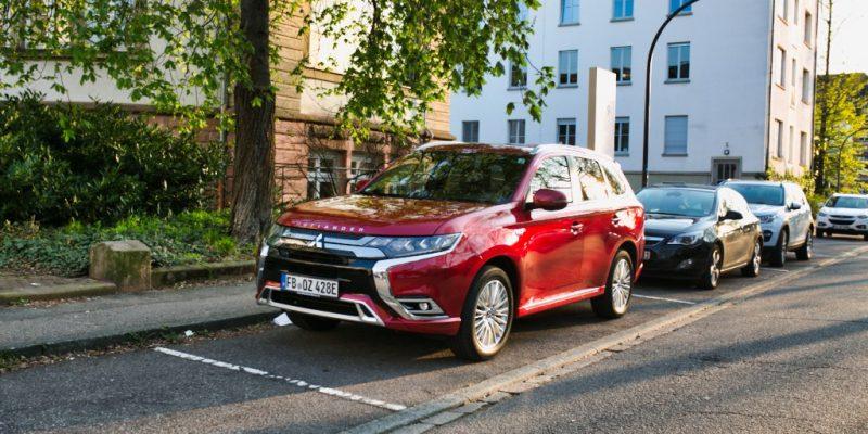 Mitsubishi Outlander PHEV 2019 Frontansicht