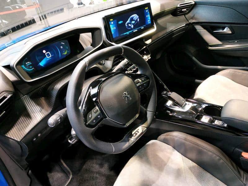 Peugeot e-208 Innenraum