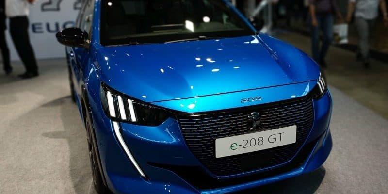 Peugeot e-208 Frontansicht