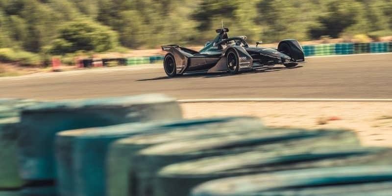 Porsche, Formel E, Fahrzeug, Test, Calafat, 2019