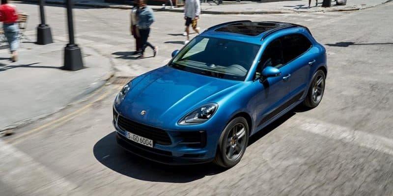 Porsche Macan künftig als E-Auto auf der Straße unterwegs