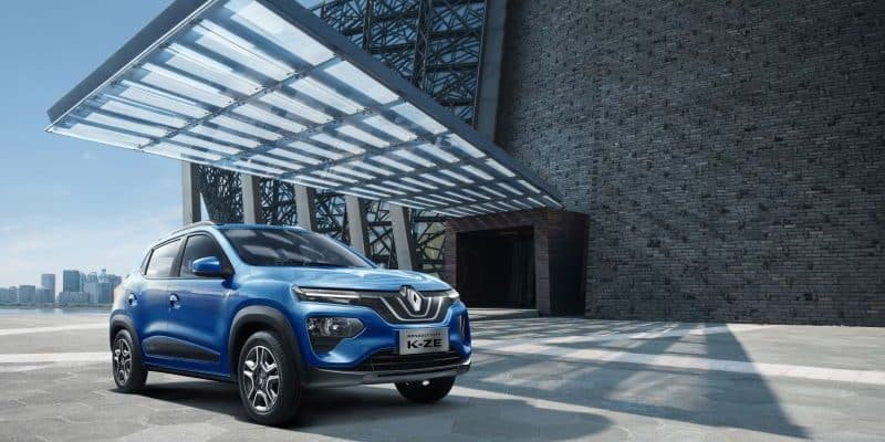Renault City K-ZE exklusiv für China
