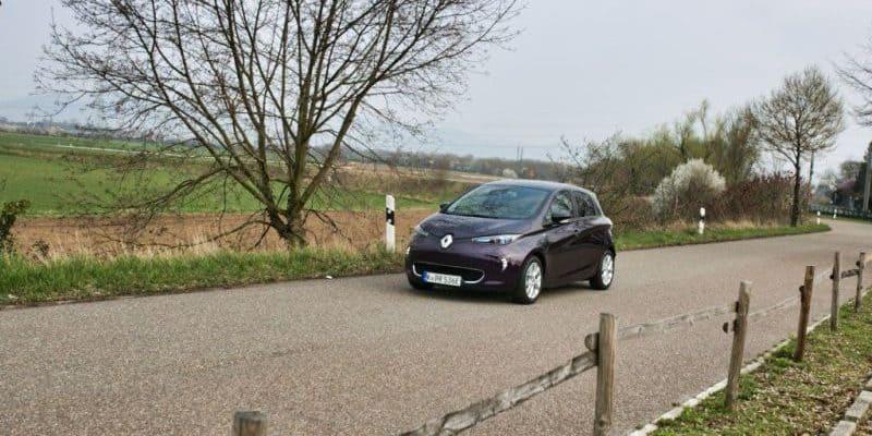 Renault ZOE nimmt Fahrt auf