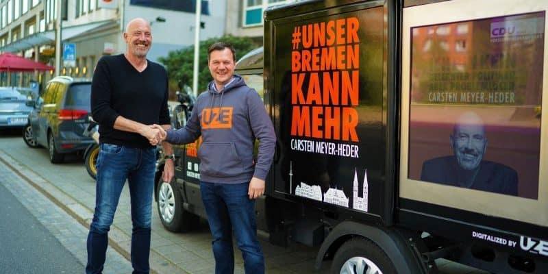 UZE Mobility im Einsatz für die CDU Bremen